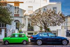 Moving On (James Neeley) Tags: london cars mini southkensington jamesneeley