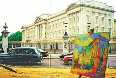 Buckingham Palace: Art on Location by Stephen B. Whatley (Stephen B. Whatley) Tags: london art 2000 contemporaryart modernart 1999 buckinghampalace greenpark expressionism royalparks 90 toweroflondon oilpainting 1926 horsetrack queensbirthday blueribbonwinner towerhillstation abigfave blacktaxis hmthequeen londontaxicab changingtheguardatbuckinghampalace colourartaward stephenbwhatley theroyalcollection towerhillunderpass happy90thbirthday theroyalcollectiontrust artiststephenbwhatley buckinghampalacebystephenbwhatley toweroflondonpaintings artiststephenwhatley queens90thbirthday thequeenis90 queenelizabeth90thbirthday 90thbirthdayofthequeen thequeenat90 21april2016