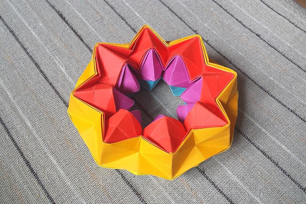 Oriland Magic Star 01 Mark Lch Tags Origami Dynamic Firework