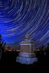 Cameron Startrail (superdavebrem77) Tags: sky night stars nightsky clearsky nightandstars