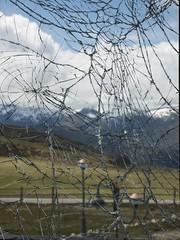 Shattered (Ramy.) Tags: espaa broken window lumix photography spain panasonic galicia da pena shattered fonte cova pea ourense m43 valdeorras trevinca dmcgx7