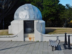 Battered Dome (mikecogh) Tags: bench observatory dome wellington dents
