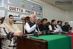 National party Press Conference (watanpaal Photography) Tags: pakistan quetta baloch nationalparty balochistan baluchistan agricultureminister sardaraslambizanju