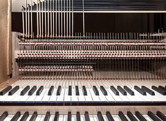 Assembly of a new Organ (Rainer Fritz) Tags: kirche orgelbau