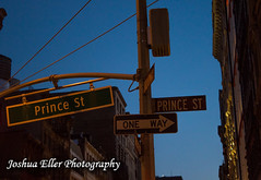 Prince St (Joshua Eller) Tags: newyorkcity streetsign soho manhatten princest