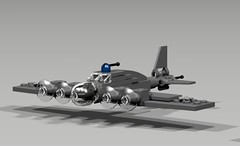 B-17 (naboon1starfighter) Tags: lego b17 bomber