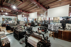 Carding, Spinning and Weaving (Andrew Stawarz) Tags: mill manchester warehouse spinning fujifilm machines museumofscienceandindustry looms adobelightroom xt1 fujinonxf1024mmf4rois