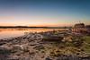 Dawn Breaks (Nick_Rowland) Tags: sky beach water sunrise dawn suffolk mud hut martlesham woodbridge riverdeben kyson