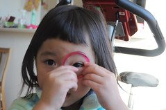 (YuUKi) Tags: pink eye girl kids nikon play    d5000