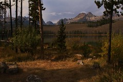Little Redfish Lake (The VIKINGS are Coming!) Tags: park camping wild lake mountains rockies timber cliffs deer idaho alpine wilderness trout redfish pristine nakedbeauty