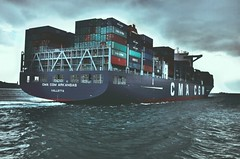 Istanbul (VERY GIORGIOUS) Tags: winter sea ferry boat istanbul cargo bosphorus containers valletta cma