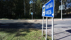 #cycle148HKI: change in road surface at Helsinki/Vantaa boundary (hugovk) Tags: cameraphone road autumn finland cycling nokia helsinki october surface change hvk boundary syksy helsinkivantaa carlzeiss uusimaa 2015 808 helsingin hugovk geo:country=finland camera:make=nokia pureview arvings exif:flash=offdidnotfire exif:aperture=24 nokia808pureview exif:orientation=horizontalnormal camera:model=808pureview geo:locality=helsinki exif:exposure=1379 uploaded:by=email exif:exposurebias=0 exif:focallength=80mm exif:isospeed=64 geo:region=uusimaa geo:county=helsingin cycle148hki geo:neighbourhood=arvings meta:exif=1452178790 cycle148hkichangeinroadsurfaceathelsinkivantaaboundary