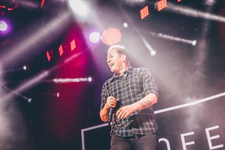 Professor Green at Manchester Arena // Shot by Joe Sheridan