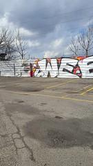 Weez x Hunt (attn_g3tr) Tags: graffiti detroit weez d30 hunt wyse mayhemcru