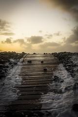 Storm Imogen (jon.capps) Tags: ocean uk longexposure winter sunset sea water canon seaside dusk tripod north devon feb manfrotto sidelight cablerelease westwardho 60d canon1740mm14lusm stormimogen