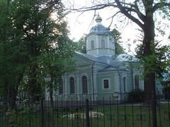 Храм преподобного Серафима Саровского в Пуще-Водице