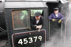 IMGP8418 (Steve Guess) Tags: uk england train engine loco hampshire steam gb locomotive alton lms 460 ropley alresford hants fourmarks medstead black5 45379