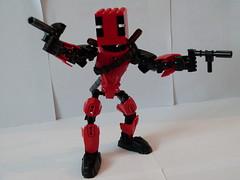 Deadpool (Copnfl) Tags: comics lego superheroes marvel marvelcomics moc mercenary deadpool ccbs