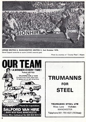 Manchester United vs Norwich City - 1976 - Page 8 (The Sky Strikers) Tags: old city red manchester one football official united devils norwich division trafford league programme