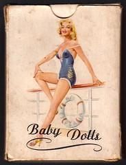 "Pin Up Playing Cards Box - ""Baby Dolls"" (cigcardpix) Tags: beauty pinups playingcard"