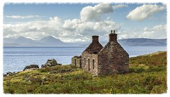 Coilegillie Croft (Katybun of Beverley) Tags: clouds landscape coast scotland scenery ruin scenic coastal croft coastline westhighlands applecross coilegillie