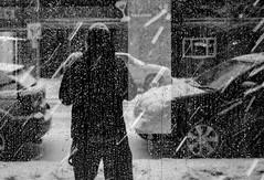 A snowy selfie (MontysPhotos) Tags: people snow reflection photography flickr members facebook selfie opg snowstrom montymontgomery instagram