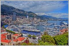 View to Monaco (Cervusvir) Tags: france beach strand frankreich montecarlo monaco fontvieille francia plage alpesmaritimes mediterranee mittelmeer sea french mediterranean cte meeralpen dazur riviera