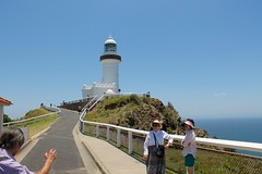 Wait For Me! (Piedmont Fossil) Tags: ocean cliff lighthouse rock pacific australia capebyron