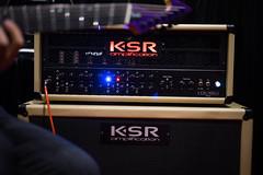 KSR Amplifier (paul_ouzounov) Tags: musician music shop guitar bare knuckle guitars jackson custom esp prs namm kiesel 2016 carvin strandberg aristides zeiss55mm sonya7 namm2016