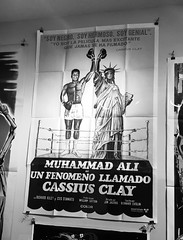 Mohammed Ali - NYC (verplanck) Tags: nyc sport chelsea movieposter 1960s boxing muhammadali blackhistorymonth thegreatest postershop
