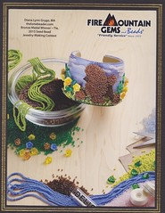 Fire Mountain Gems Seed Beading Contest 2015 (The Lone Beader) Tags: dogs fashion beads amazon handmade embroidery jewelry poodle bead etsy beadwork beadshop seedbeads beadembroidery firemountaingems beadingcontest
