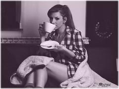 Shooting with Stef - Coffeetime_1 (humanvtec) Tags: girls portrait bw sexy feet coffee fashion vintage naked deutschland nice model erotic kaffee lingerie retro bikini redlips shooting bunnys dessous longlegs halfnaked bh erotik unterwsche teilakt smokinggirls elitegirls hschen candidgirls jungefrauen deutschemdels homeshooting holzfllerhemd like4like instafoto sexygirs gntm2016 jungemdels