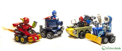 LEGO Superheroes Mighty Micros: 76063 The Flash vs. Captain Cold and 76065 Captain America vs. Red Skull (The Brothers Brick) Tags: red cold america skull lego flash chibi captain vs superheroes mighty micros the 76065 76063