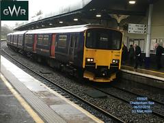 GREAT WESTERN RAILWAY 150926 ON 0948 GREAT MALVERN AT CHELTENHAM SPA 06022016 (MATT WILLIS VIDEO PRODUCTIONS) Tags: great railway western malvern spa cheltenham on at 0948 150926 06022016