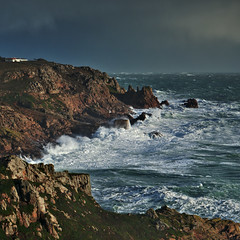 Survived the storm (pa.herbert) Tags: sea waves jersey channelislands corbiere