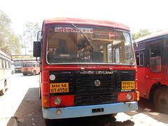 MSRTC Parivartan Of Vengurla Depot doing Akkalkot -- Vengurala via Solapur ,Sangli ,Kolhapur (gouravshinde94) Tags: bus ashokleyland vengurla msrtc parivartan