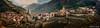 Panoramica de Albarracin, Teruel, Aragón (dleiva) Tags: españa color horizontal casa iglesia medieval cielo fortaleza día domingo comunidad nube fotografía leiva nadie tranquilidad airelibre albarracín atestado destinosturísticos dleiva arquitecturaexterior provinciadeteruel patrimoniodelahumanidadporlaunesco comunidadautónomadearagón estructuradeedificio