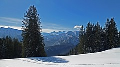 winterwonderland (Wolf Claudia) Tags: schnee winter snow mountains nature landscape view natur berge alpen bäume ausblick winterlandschaft chiemgau