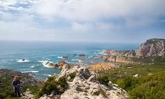 Rocky Cape (laurie.g.w) Tags: ocean water coast rocks shoreline rocky australia tasmania cape coastline headland sescape