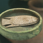 """Artificial fish in a clay dish<a href=""""http://www.flickr.com/photos/28211982@N07/25240407492/"""" target=""""_blank"""">View on Flickr</a>"""