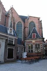 Oude Kerk exterior (firepile) Tags: amsterdam oldchurch oudekerk
