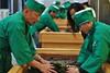 Handrolling process, contest in Uji (Obubu Tea Farms) Tags: greentea handprocess handrolling japanesetea kansai obubutea sencha teaprocessing uji wazuka