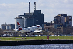 British Airways ERJ170 ~ G-LCYH ( Freddie) Tags: london londoncityairport newham e16 lcy tatelyle royaldocks eglc runway27