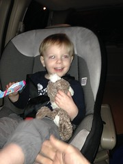 """Paul Gets a Toy Plane from Grandma and Grandpa Miller • <a style=""""font-size:0.8em;"""" href=""""http://www.flickr.com/photos/109120354@N07/25447371193/"""" target=""""_blank"""">View on Flickr</a>"""