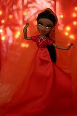 Tori (BratzCollector) Tags: red lights bride doll dolls bokeh indian sasha mga bratz