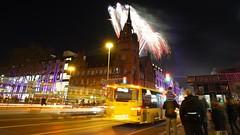 """Feuerwerk """"Das Schloss"""", Berlin (Fotograf M.Gerhardt) Tags: berlin deutschland nacht kreuzung feuerwerk langzeitbelichtung steglitz 2016 dasschloss strase rathaussteglitz schlosstrase schlossstrase"""