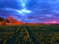Nach dem Gewitter (amantilado72) Tags: clouds germany bluehour wetterau