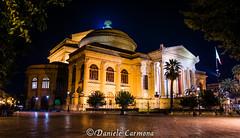 Teatro Massimo (Daniele Carmona) Tags: pictures italy night nikon theater italia sicily palermo massimo d7100 nikoncorporation mydslr nikond7100 danielecarmona