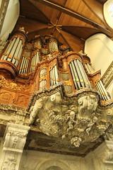 Pipe organ, Oude Kerk (firepile) Tags: amsterdam oldchurch oudekerk