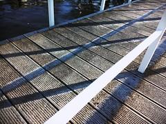 Morning frost in the shade of F12 pier (# annola) Tags: winter berlin ice hiver inverno glace kpenick ghiaccio